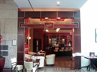E. Wedel - Wedel chocolate fountain and cafe at InterContinental hotel