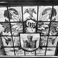 Interieur, gedeelte van gebrandschilderd raam - Bloemendaal - 20400094 - RCE.jpg