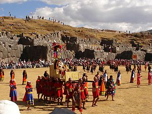 Religion in the Inca Empire - Inti Raymi, Saksaywaman, Cusco