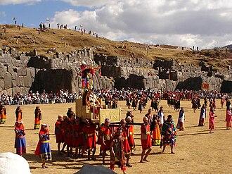 Religion in the Inca Empire - Inti Raymi, Saksaywaman, Cusco