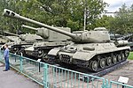 Iosif Stalin IS-2 - Central Armed Forces Museum, Moscow (38829449032).jpg