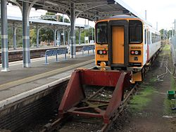 Ipswich - Greater Anglia 153309 going to Saxmundham.jpg