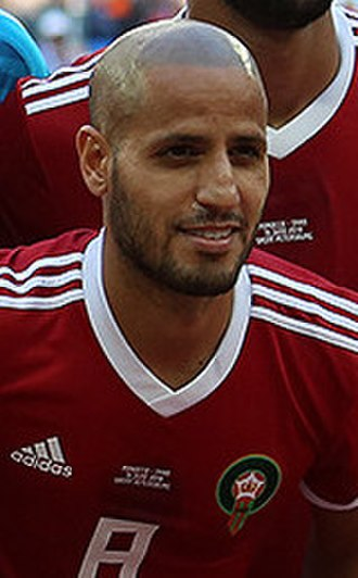 Karim El Ahmadi - El Ahmadi with Morocco at the 2018 FIFA World Cup
