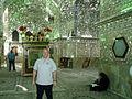 Iran 2007 106 Dave in Shah Cheragh Mosque Shiraz (1732532620).jpg