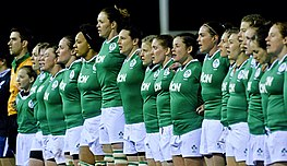 Ireland Women during the 2015 RBS Six Nations.jpg