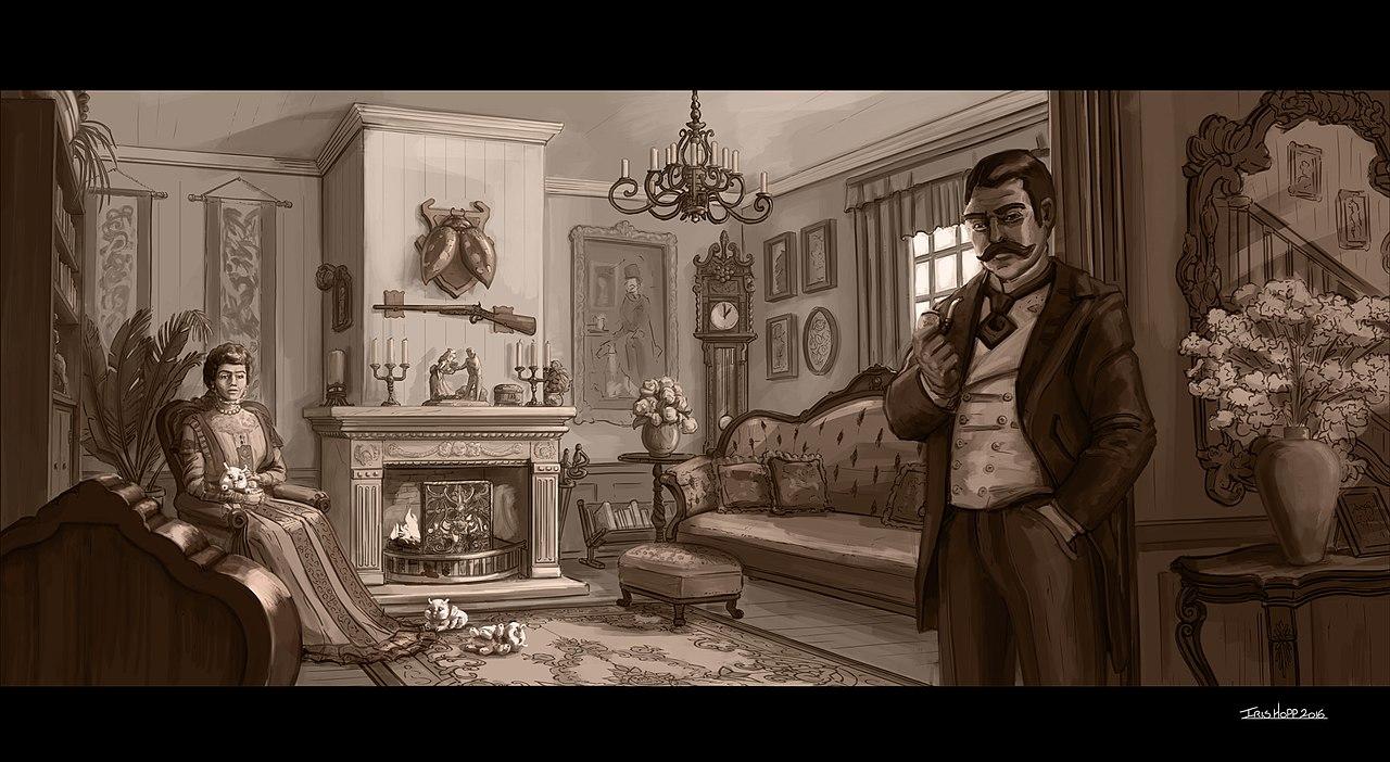 File:Iris Hopp Creatures - Victorian Household, Living ...