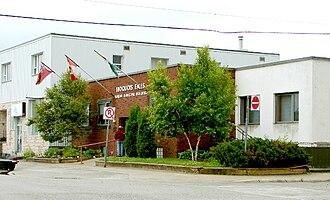 Iroquois Falls - Iroquois Falls municipal office