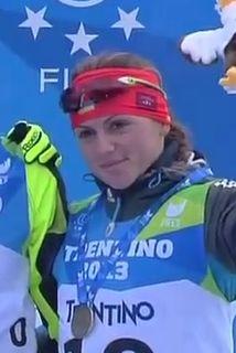 Iryna Varvynets Ukrainian biathlete