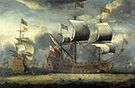 Isaac Sailmaker - THE FIRST 'BRITANNIA', 98 GUNS, UNDER SAIL, WITH OTHER MEN-O'-WAR.jpg