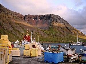 Ísafjörður - Ísafjörður harbour