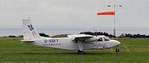 Isles of Scilly Skybus - Isles of Scilly Skybus Britten-Norman Islander