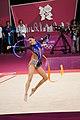 Israel Rhythmic gymnastics at the 2012 Summer Olympics (7915065208).jpg