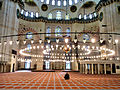 Istanbul - Preghiera nella moschea.JPG