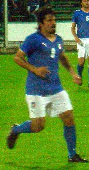 Gennaro Gattuso - Gattuso playing against Belgium in 2008