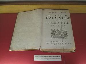 Johannes Lucius - Ivan Lučić. De regno Dalmatiae et Croatiae. Amsterdam, 1666. Trogir City Museum