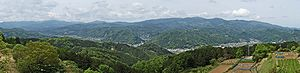 Izu, Shizuoka - A panorama of the Izu city