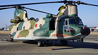 JASDF CH-47J(LR)(37-4501) at Komaki Air Base February 23, 2014 01.JPG