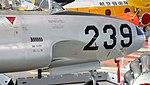 JASDF T-33A(71-5239) nose section right rear view at Hamamatsu Air Base Publication Center November 24, 2014.jpg