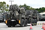 JGSDF Heavy Wheeled Recovery Vehicle(38-5010) right rear view at Camp Itami October 7, 2018 02.jpg