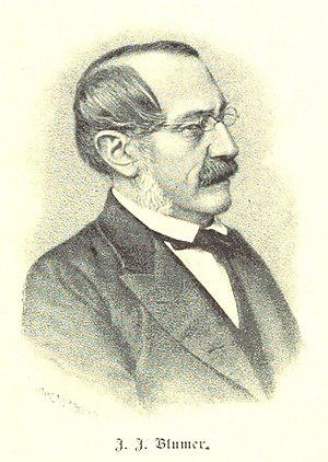 Johann Jakob Blumer - Johann Jakob Blumer.