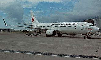 Japan Transocean Air - JTA Boeing 737-800