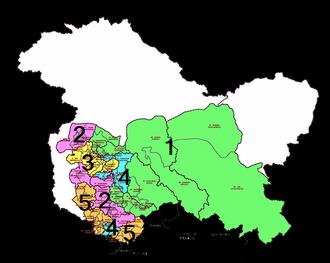 Jammu and Kashmir Legislative Assembly election, 2014 - Voting stages