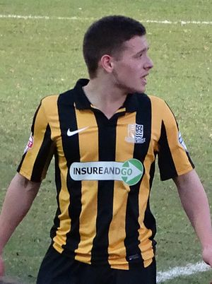 Jack Payne (footballer, born 1994) - Payne playing for Southend United in 2014.