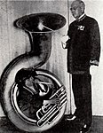 Jackie Coogan & John Philip Sousa - Jan 1922 EH.jpg