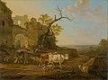 Jacob van Strij - Landschap met vee bij een ruïne.jpg