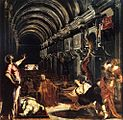 Jacopo Tintoretto - St Mark Working Many Miracles - WGA22486.jpg