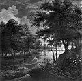 Jacques d' Arthois - Gewässer mit bepflanzten Deichen - 403 - Bavarian State Painting Collections.jpg