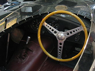 Jaguar D-Type - 1955 cockpit