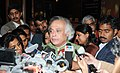 "Jairam Ramesh briefing the media at the end of the National Workshop on ""India Climate Change & India – A 4x4 Assessment"", organised by the Indian Network for Climate Change Assessment (INCCA), in New Delhi.jpg"