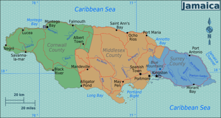Jamaika – Reiseführer auf Wikivoyage