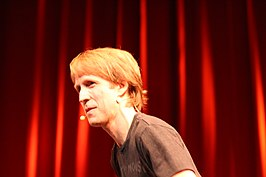 James Arnold Taylor tijdens Star Wars Weekends 2011