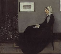 Arrangement In Grey And Black No.1 By James McNeill Whistler, (1871),  Better Known As Whistleru0027s Mother.