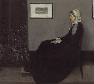Grey - Image: James Abbott Mc Neill Whistler Portrait of the Artist's Mother Google Art Project