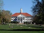 Le campus de la James Madison University, Harrisonburg, Virginie