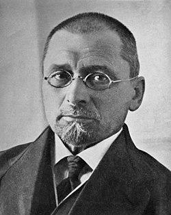 Jan Łoś, portret z książki 'Gramatyka polska', Lwów 1922 (cropped).jpg