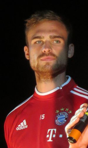 Jan Kirchhoff - Kirchhoff with Bayern in 2013.