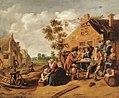 Jan MIense Molenaer - Gezelschap voor de herberg `De Kroon'.jpg