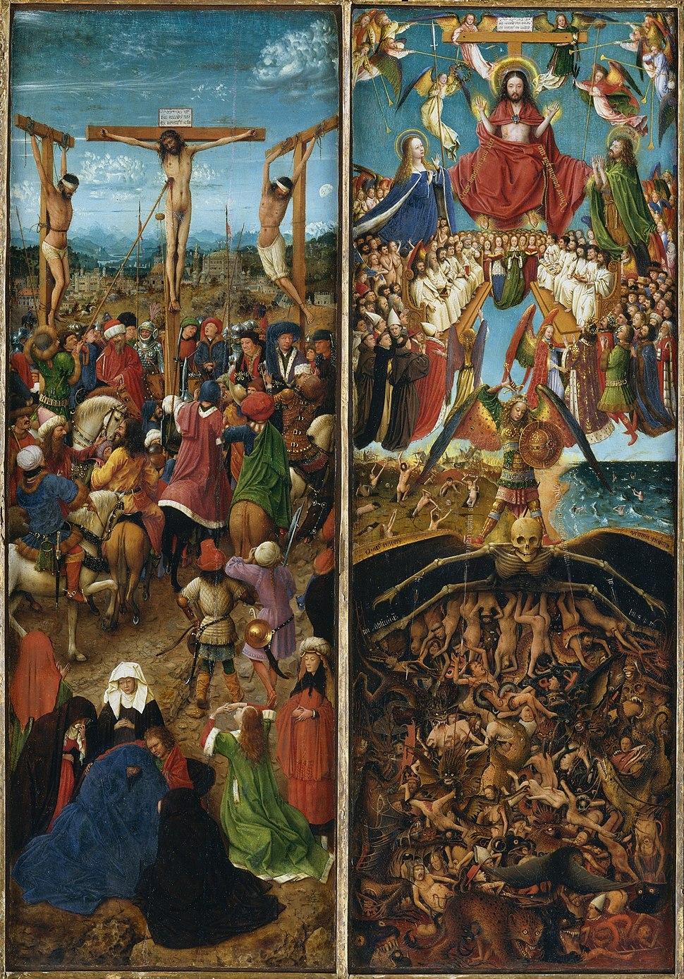 Jan van Eyck - Diptych - WGA07587