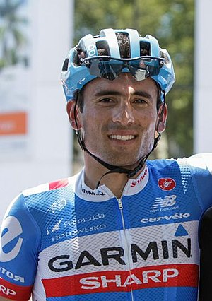 Janier Acevedo - Acevedo at the 2014 Tour de San Luis
