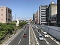 Japan National Route 3 on east side of Yahata Station.jpg