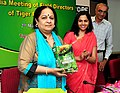 Jayanthi Natarajan releasing the book 'Fundamentals of the Wildlife Management', at the All India Meeting of Field Directors of Tiger Reserves, in New Delhi on May 02, 2012.jpg