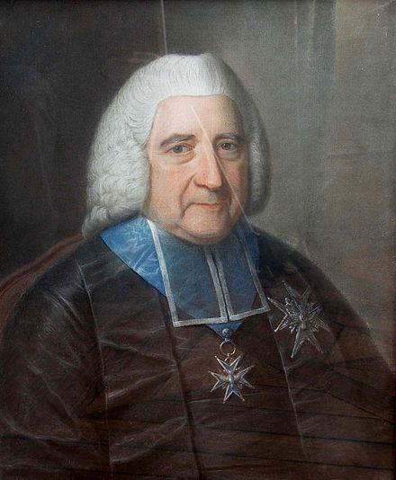 Finance Minister Jean Baptiste de Machault D'Arnouville, who attempted to reform the French tax system Jean-Baptiste de Machault d'Arnouville.jpg