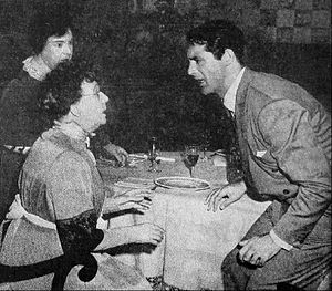 Arsenic and Old Lace (film) - Jean Adair, Josephine Hull and Cary Grant in Arsenic and Old Lace