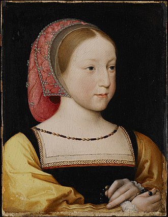 Charlotte of France - Charlotte in 1524, by Jean Clouet
