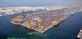 Port of Jebel Ali - Jebel Ali Port View