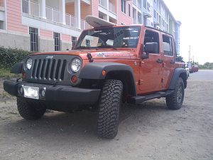 English: 2010 Jeep Wrangler Unlimited Mountain.